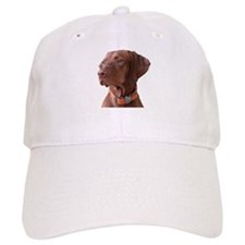 "Vizsla head shot of ""Tru"" Baseball Cap"