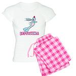 Let's Bounce Bunny Rabbit Women's Light Pajamas