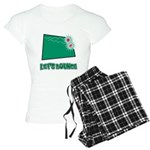 Let's Bounce Dice (Die) Women's Light Pajamas