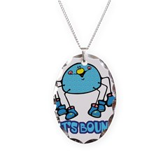 Let's Bounce Silly Cartoon Sp Necklace