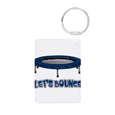 Let's Bounce Trampoline Keychains