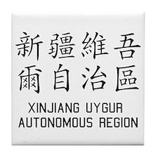 Xinjiang Uygur Tile Coaster
