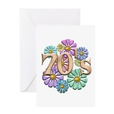 Retro 70s Greeting Card