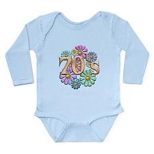 Retro 70s Long Sleeve Infant Bodysuit