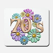 Retro 70s Mousepad