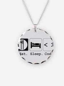 Eat. Sleep. Code. Necklace