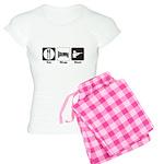 Eat. Sleep. Hunt. Women's Light Pajamas