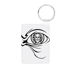Evil Skull Eyeball Keychains