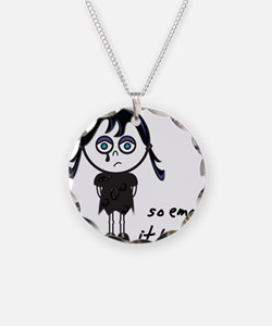 So Emo, It Hurts (Emo Girl) Necklace