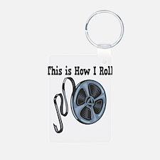 How I Roll (Movie Film) Keychains