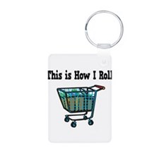 How I Roll (Shopping Cart) Keychains