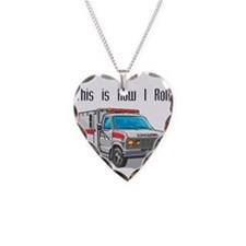 How I Roll (Ambulance) Necklace