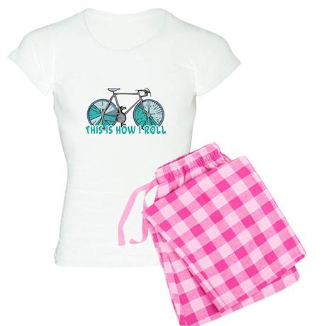 How I Roll (Bicycle/Bike) Women's Light Pajamas