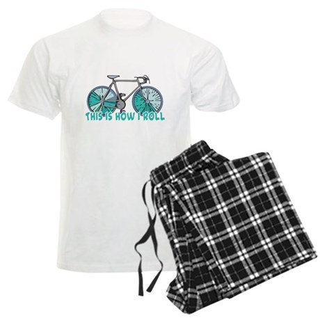How I Roll (Bicycle/Bike) Men's Light Pajamas