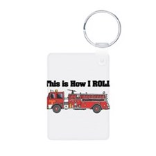 How I Roll (Fire Engine/Truck Keychains