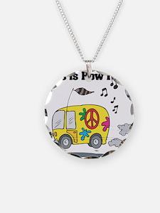 How I Roll (Hippie Bus/Van) Necklace