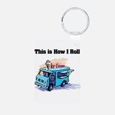 How I Roll (Ice Cream Truck) Keychains