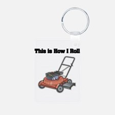 How I Roll (Lawn Mower) Keychains