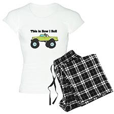 How I Roll (Monster Truck) Pajamas