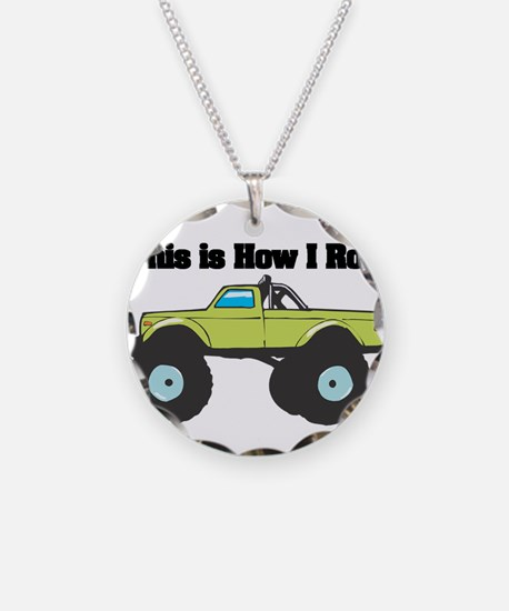 How I Roll (Monster Truck) Necklace