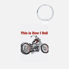 How I Roll (Motorcycle) Keychains