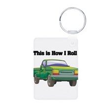 How I Roll (Pick Up Truck) Keychains