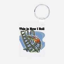 How I Roll (Roller Coaster) Keychains