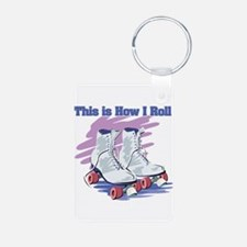 How I Roll (Roller Skates) Keychains