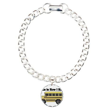 How I Roll (Short Yellow Scho Charm Bracelet, One