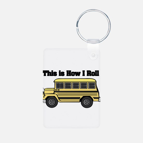 How I Roll (Short Yellow Scho Keychains