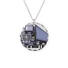 How I Roll (Tractor Trailer) Necklace