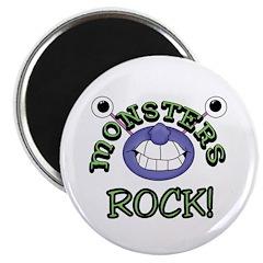 "Monsters Rock 2.25"" Magnet (10 pack)"