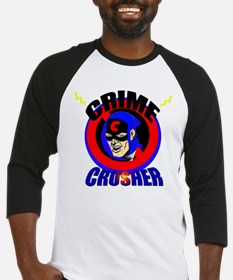 CRIME CRUSHER Baseball Jersey