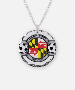 Maryland Soccer Necklace