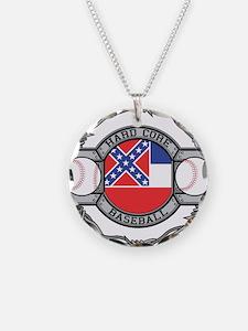 Mississippi Baseball Necklace