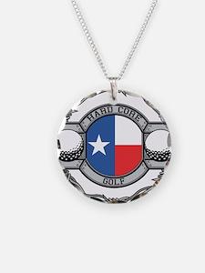 Texas Golf Necklace