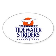 Tidewater Striders Oval Decal