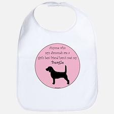 Girls Best Friend - Beagle Bib