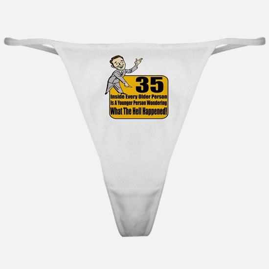 35th Birthday Classic Thong