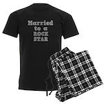 Married to a Rock Star Men's Dark Pajamas