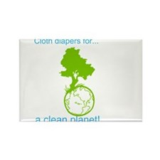 Cute Cloth diapers Rectangle Magnet (100 pack)