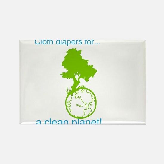 Unique Cloth diaper Rectangle Magnet (100 pack)