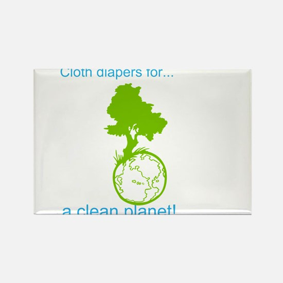 Funny Cloth diaper Rectangle Magnet