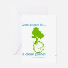Cute Cloth diaper Greeting Card