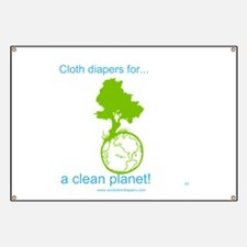 Cute Cloth diaper Banner