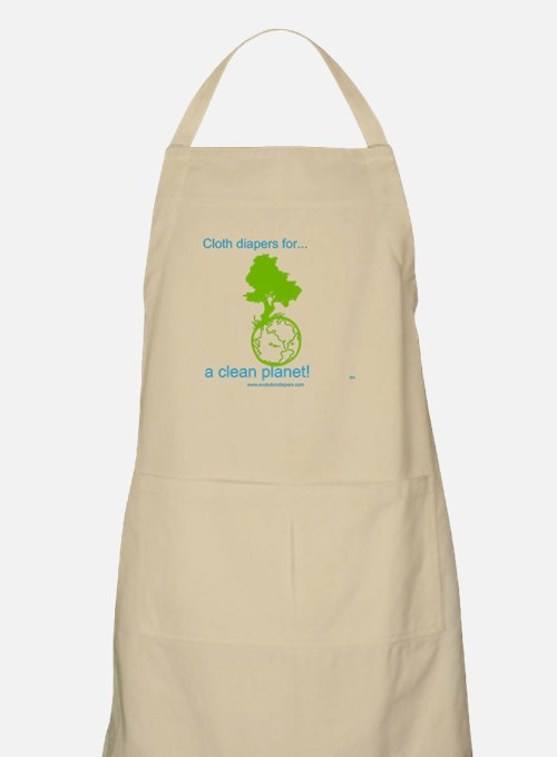 Cute Cloth diapers Apron