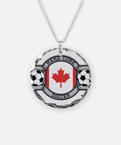 Canada Soccer Necklace