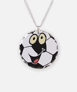 Happy Soccer Ball Belly Necklace