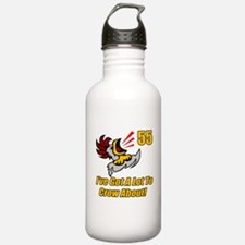 55th Birthday Water Bottle