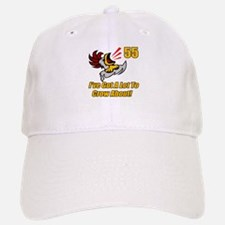55th Birthday Baseball Baseball Cap
